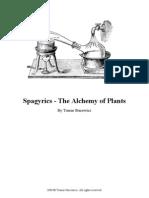 Spagyrics - The Alchemy of Plants