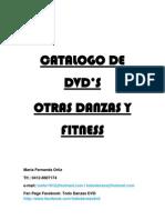 Catalogo de Dvd Danza y Fitness