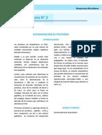 Determinacion Proteinas Bioquimica