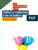 Beillerot Blanchard - Saber y Relacion Con El Saber