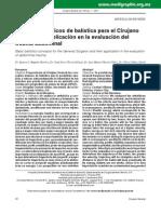 Conceptos básicos de balística para el Cirujano General y su aplicación en la evaluación del trauma abdominal