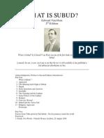 What is Subud- Edward Van_Hien