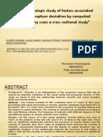 Jurnal an Epidemiologic Study