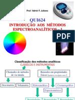 Espectroanalitica - Absorcao Molecular
