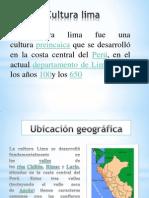 Cultura Lima Diapositivas
