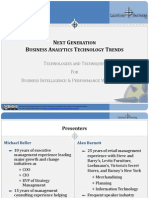 Next Generation Business Analytics Technology Trends