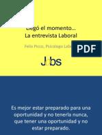 Entrevista Laboral -JOBS