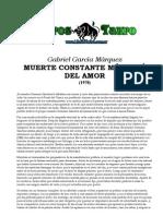 19374996 Garcia Marquez Muerte Constante Mas Alla Del Amor