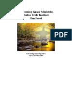 Redeemig Grace Bible Institute Handbook