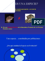 Especiación
