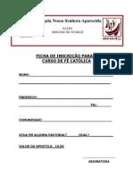 Ficha de Inscr