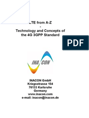 Inacon LTE from A-Z   Orthogonal Frequency Division Multiplexing