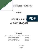 Prática 01 - Sistemas de Alimentação