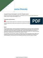 HUawei 2G 2-Antenna Receive Diversity