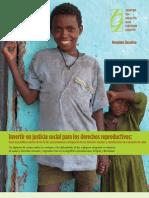 CHANGE Reproductive Justice Report ES Espanol