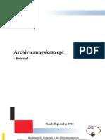 Archivierung s Konzept