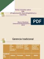 Notas Iniciales Sobre PNL y Coaching