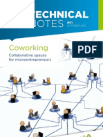 Coworking - Collaborative spaces for microentrepreneurs