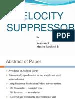 Velocity Suppressor of model