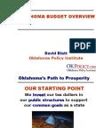 2009 Oklahoma Budget Overview
