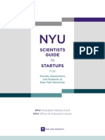 2012 NYU Scientists Guide to Startups