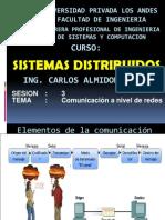 Sistemas Distribuidos Sesion 3 Comunicacion de Redes