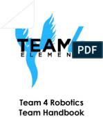 Team 4 Robotics Handbook 2013-2014