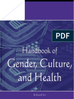 Handbook of Gender Culture and Health
