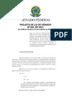 Projeto Lei2 Senado Brasil
