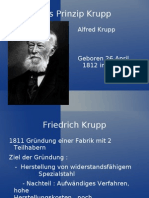 Alfred Krupp Power Point German