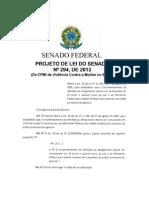 Projeto Lei4 Senado Brasil