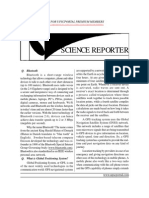 Gist of Science Reporter 2013