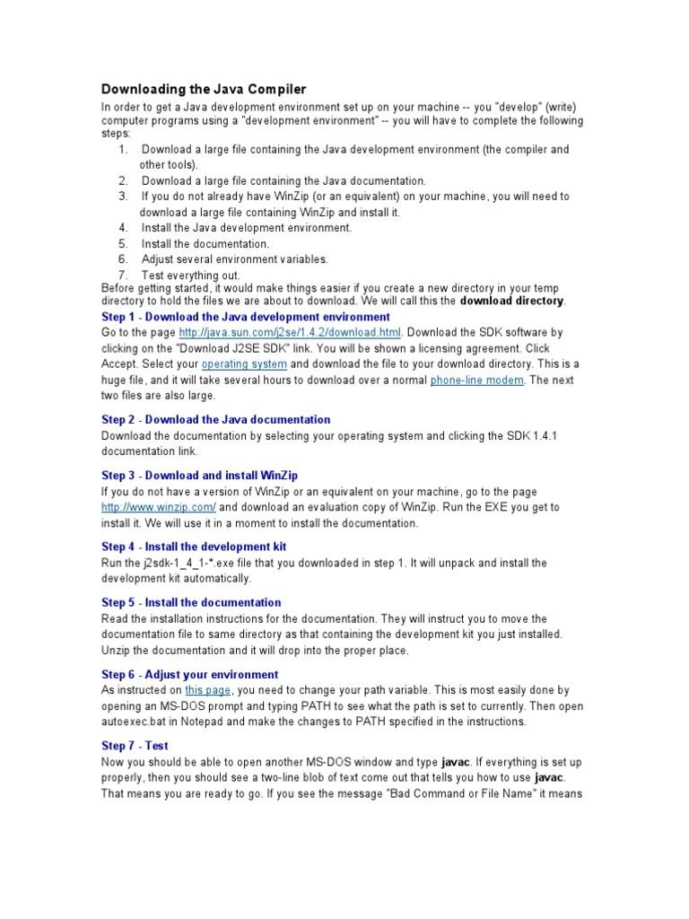Tas | Java (Programming Language) | Computer File