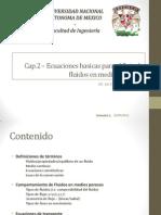 Cap2 - Ecuaciones basicas