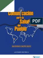 Libro-comunicacion Para La Salud Del Pueblo