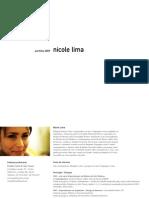 Nicole Lima Portfolio2009