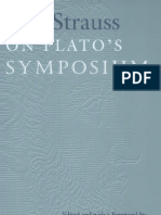Leo Strauss on Plato s Symposium