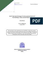 Sharan-ETHE for Environmental Control of Farms-2008