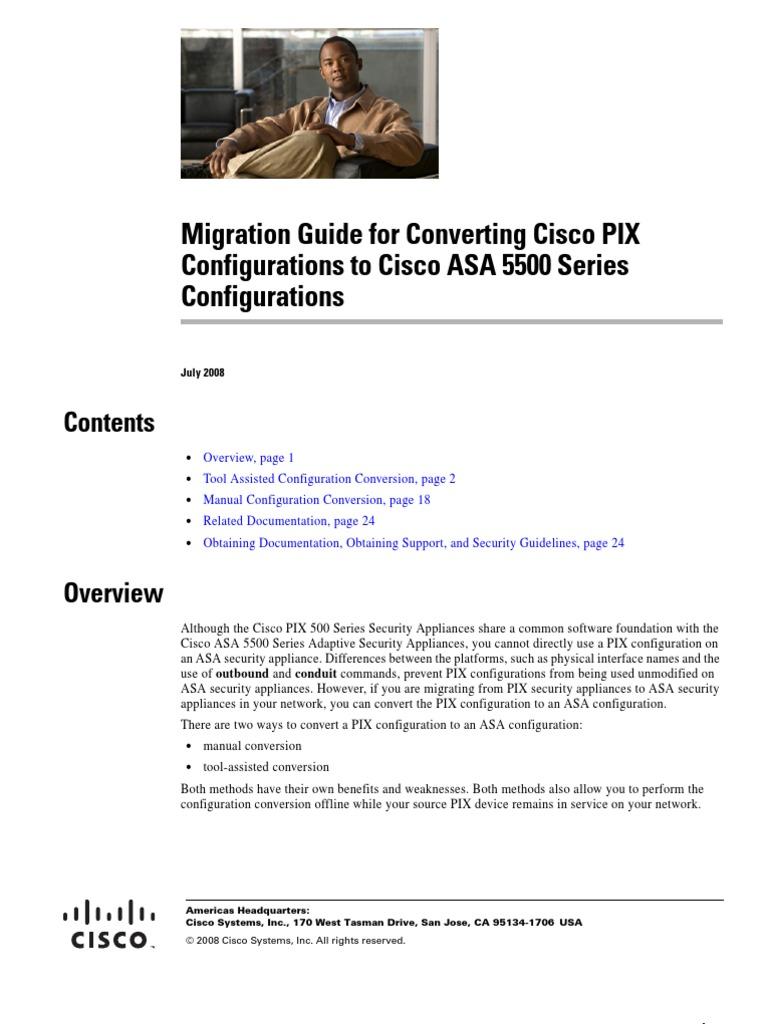 Cisco Asa Configuration Upgrade Tool