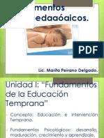 Fundamentos Psicopedagógicos 1- 2013