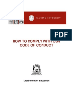 Handbook - Code of Conduct