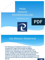Professional Lines- Who we are.