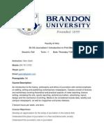 BU 30-154Journalism I - Intro to Print Media