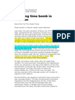 Ticking Time Bomb in Vietnam