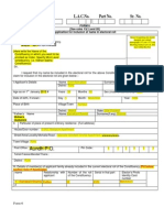 Sample filled form 6 for new voters | Identity Document