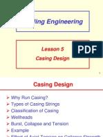 1 Casing Design