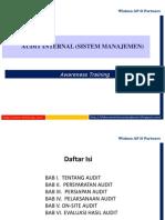 Materi Presentasi Audit Internal