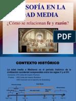 1. Proceso Historico de La Filosofia Cristiana en La Edad Media