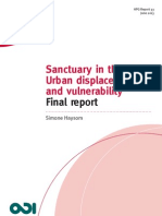 HPG Sanctuary in the City? Urban Displacement and Vulnerability Final Report