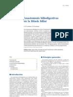 Anastomosis Biliodigestivas en La Litiasis Biliar